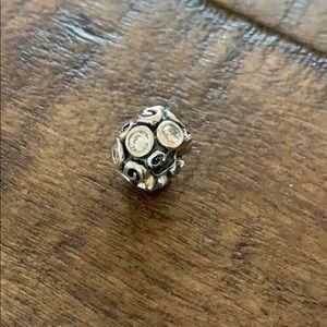 Pandora swirl bracelet charm
